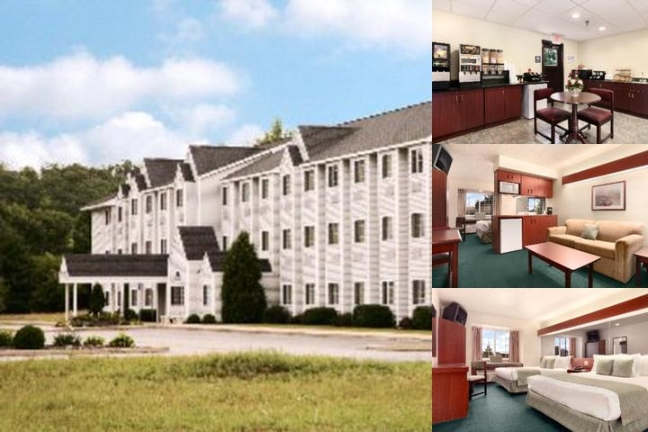Manistee Microtel Inn & Suites photo collage