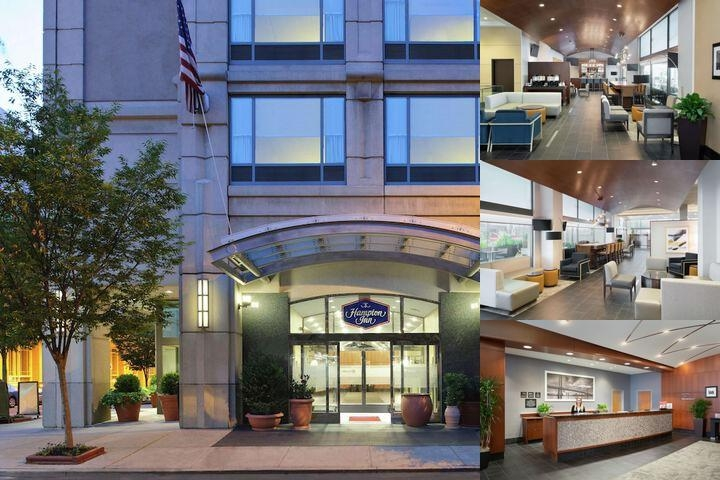 Hampton Inn Center City Philadelphia photo collage