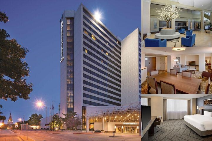 Doubletree by Hilton Tulsa Downtown photo collage