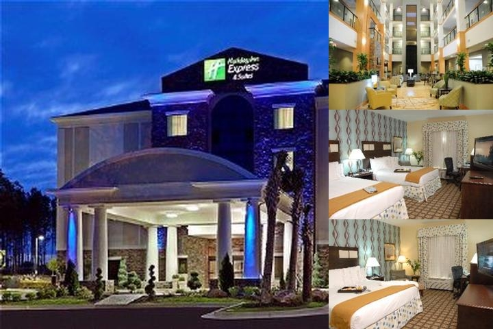Holiday Inn Express & Suites Atlanta Southwest Fairburn photo collage
