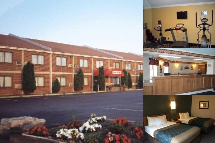 Econo Lodge Darien Lakes photo collage