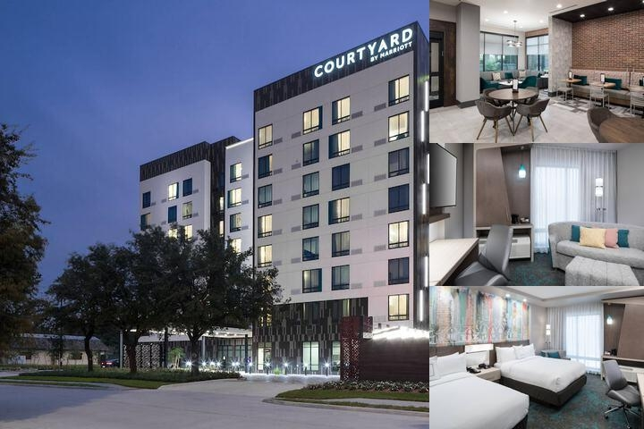 Courtyard by Marriott Houston Heights / I 10 photo collage