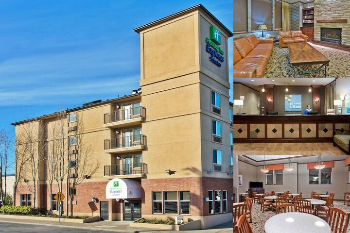 Holiday Inn Express Hotel & Suites Portland-NW Downtown, an IHG H photo collage