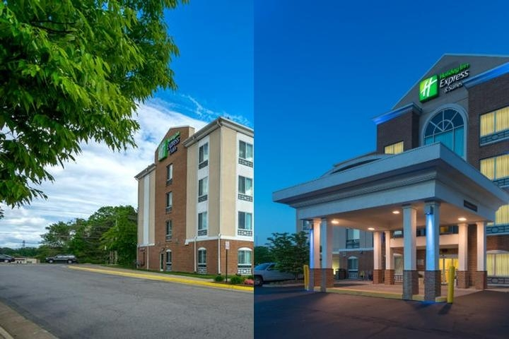 Holiday Inn Express Hotel photo collage