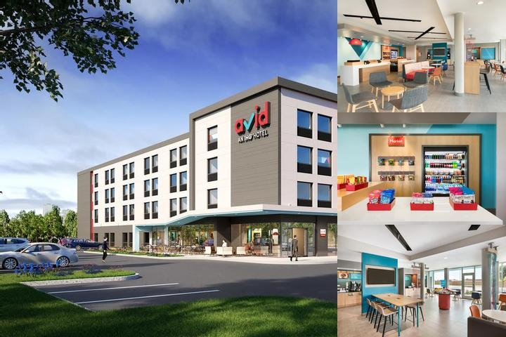 Avid Hotels Tulsa South Medical District photo collage
