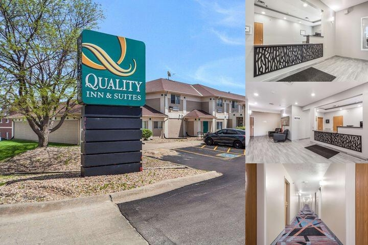 Quality Inn & Suites Omaha photo collage
