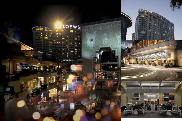 Loews Hollywood photo collage