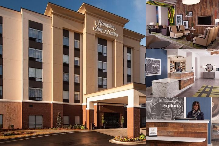 Hampton Inn & Suites by Hilton Augusta Washington photo collage