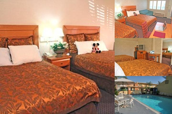 Anaheim Islander Inn & Suites photo collage