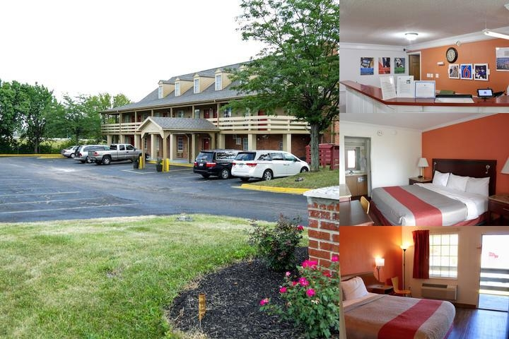Motel 6 Dayton photo collage