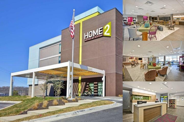 Home2 Suites by Hilton Kansas City Ku Medical Center photo collage