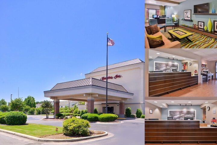 Hampton Inn Decatur photo collage