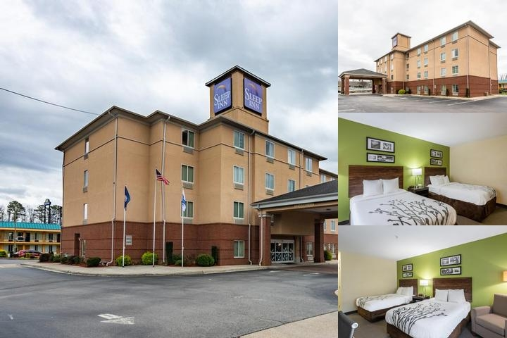 Sleep Inn Emporia photo collage