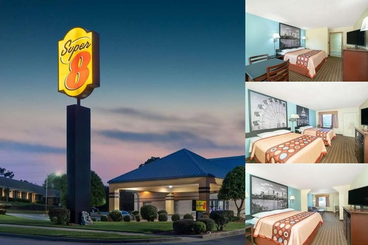 Super 8 by Wyndham North Little Rock / Mccain photo collage