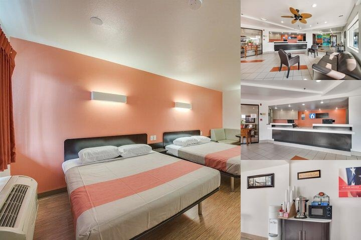Motel 6 Brownsville North photo collage