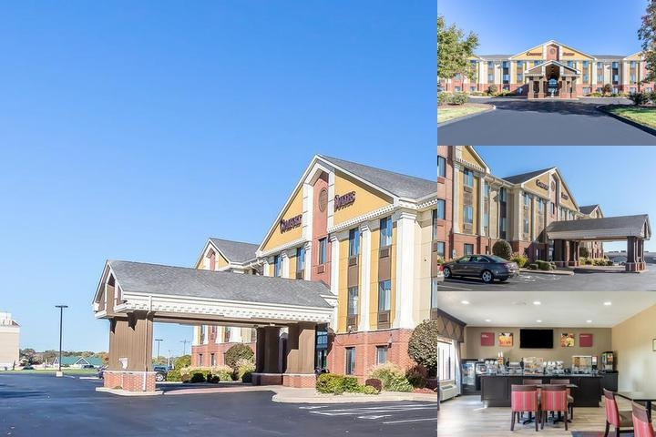 St. Charles Comfort Suites photo collage