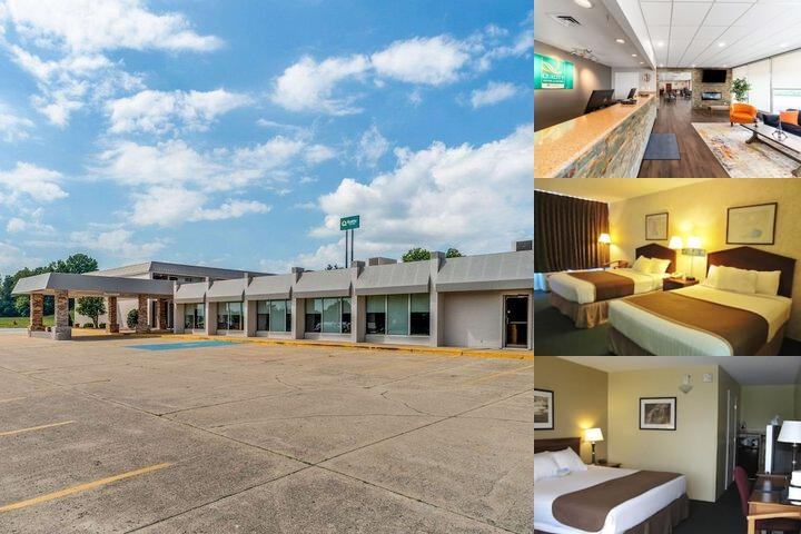 Americas Best Value Inn Vandalia photo collage