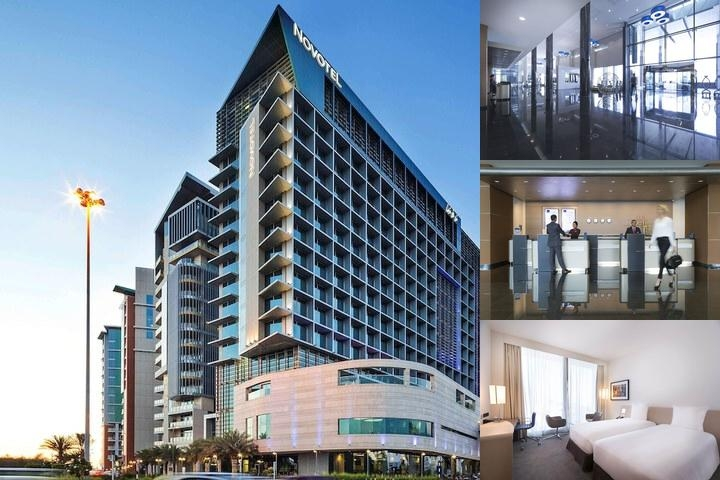 Novotel Abu Dhabi Al Bustan photo collage