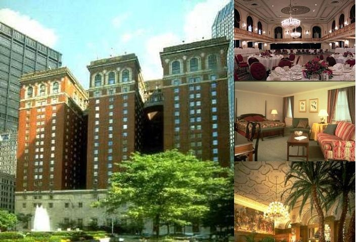 Omni William Penn Hotel photo collage