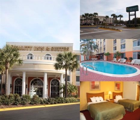 Quality Inn & Suites Universal Studios photo collage