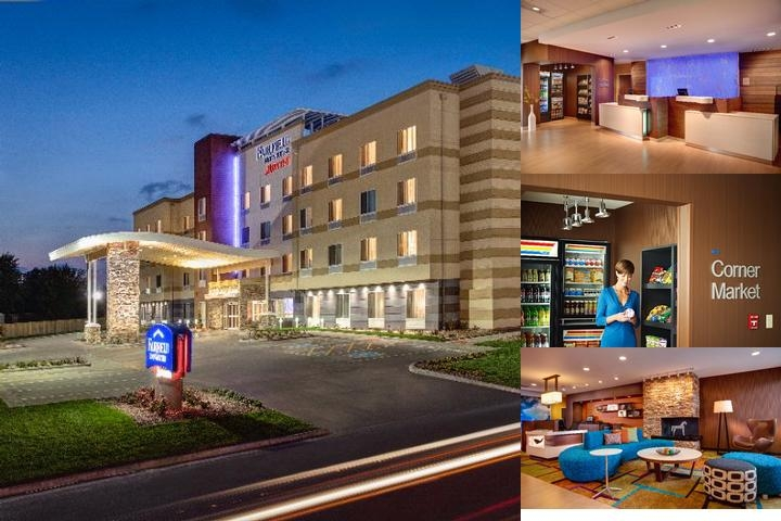 Fairfield Inn & Suites Columbus Airport photo collage