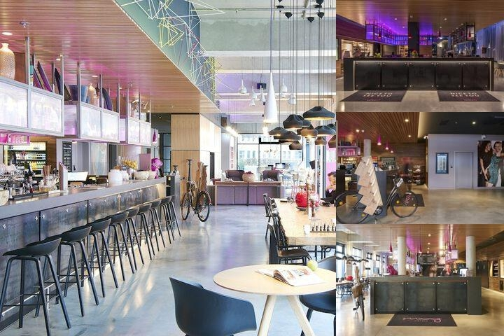 Moxy Frankfurt Airport photo collage