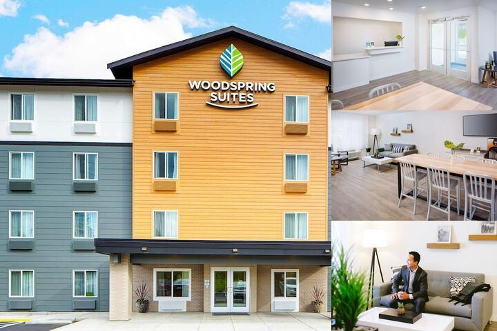 Woodspring Suites Everett photo collage