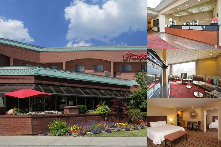 Hampton Inn Spokane photo collage