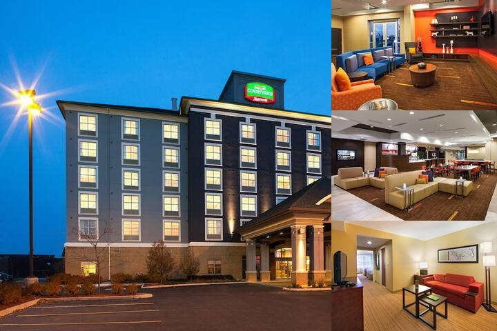 Courtyard by Marriott London photo collage
