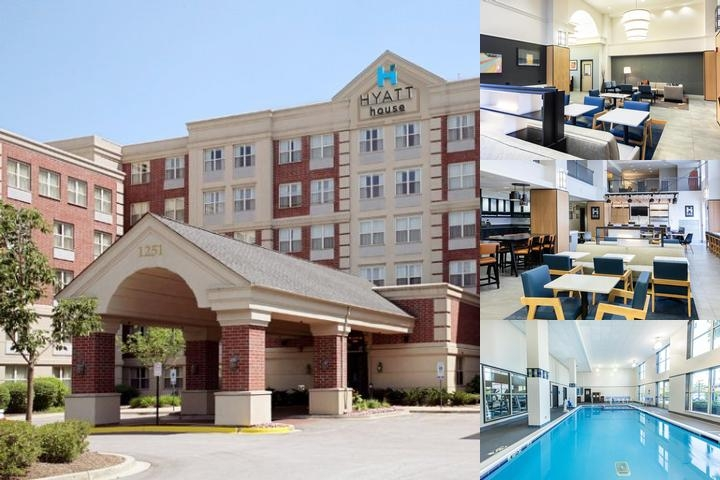 Hyatt House Chicago Schaumburg photo collage