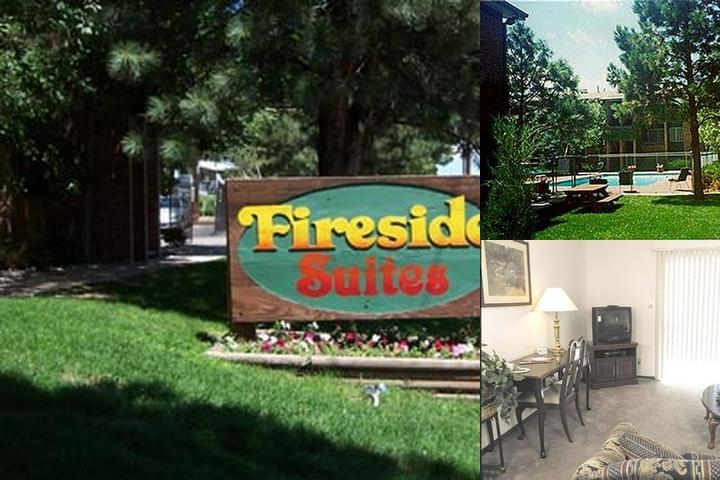 Fireside Suites photo collage