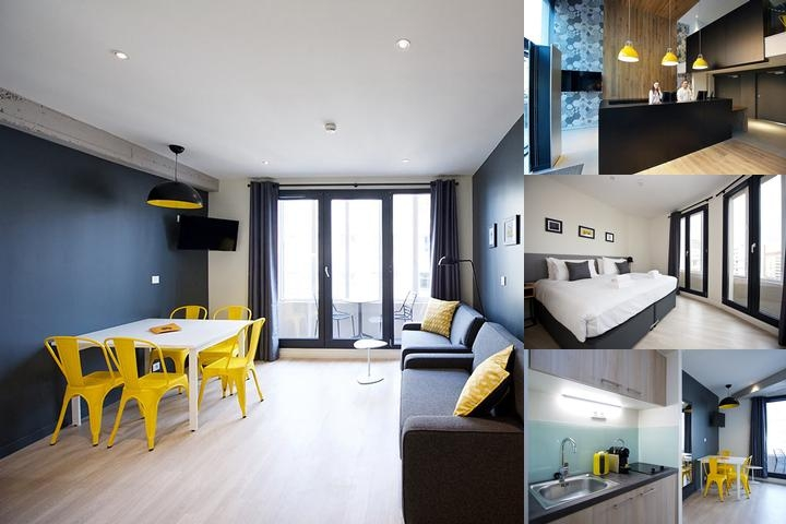 Staycity Aparthotels Rue Garibaldi photo collage