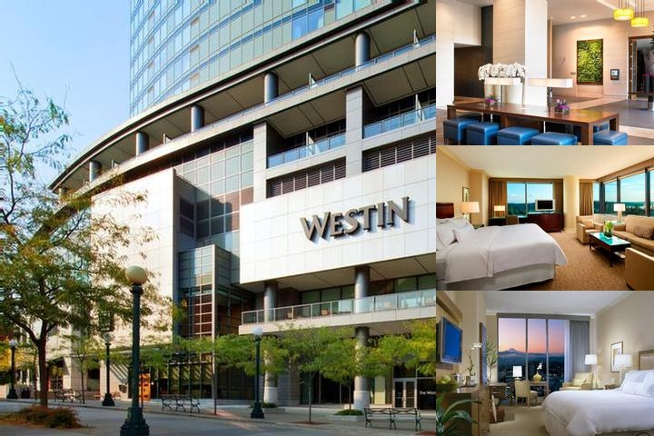 Westin Bellevue photo collage