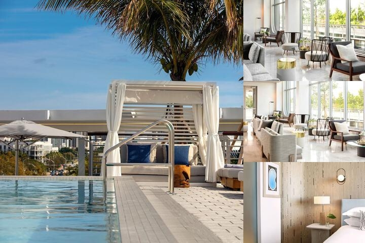 Kimpton Hotel Palomar South Beach Opening January 2020 photo collage