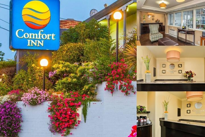 Comfort Inn Monterey Bay photo collage