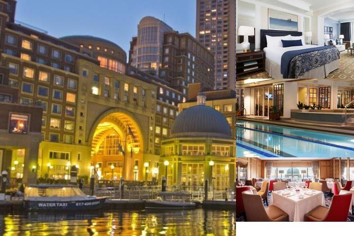 Boston Harbor Hotel photo collage