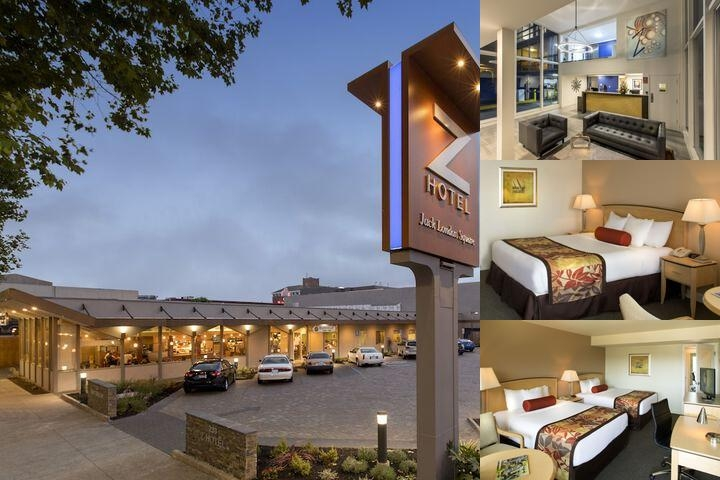 Z Hotel Jack London Square photo collage
