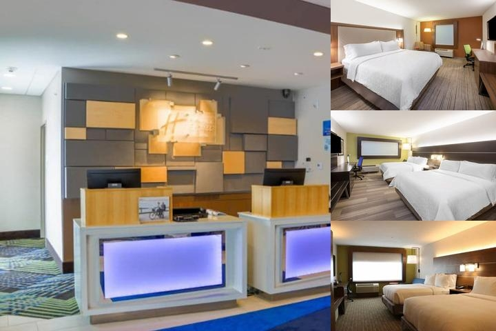 Holiday Inn Express & Suites Detroit North Roseville photo collage