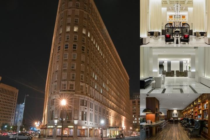The Boston Park Plaza Towers photo collage
