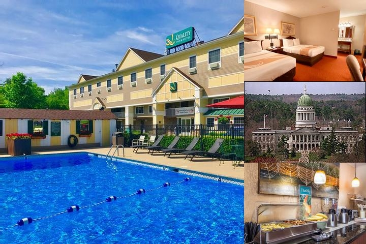 Quality Inn & Suites Maine Evergreen Hotel photo collage