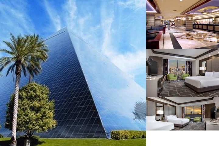 Luxor Hotel & Casino photo collage
