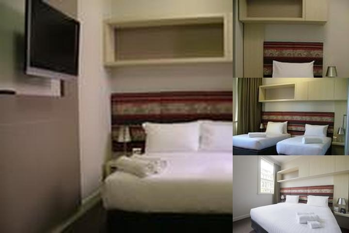 Pensione Hotel Melbourne photo collage