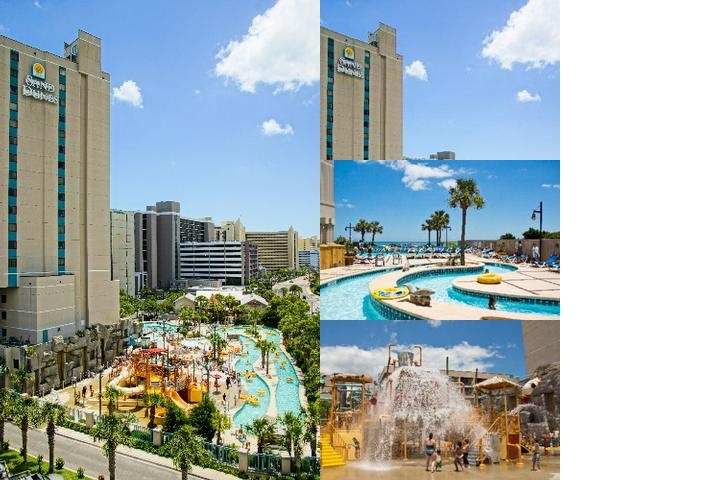 Sands Resorts photo collage