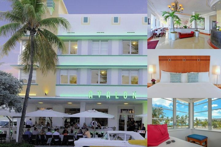 Avalon Hotel photo collage