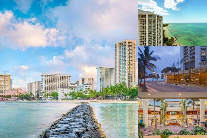 Hyatt Regency Waikiki Beach Resort & Spa photo collage