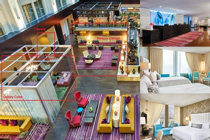 The Nines a Luxury Collection Hotel Portland photo collage