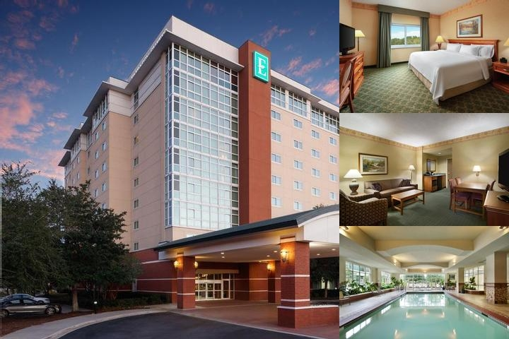 Embassy Suites Hotel photo collage