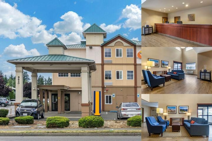 Comfort Inn Tacoma photo collage