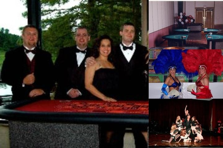 Casino Parties Orlando photo collage