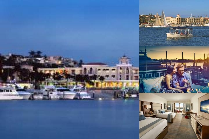 Balboa Bay Resort photo collage